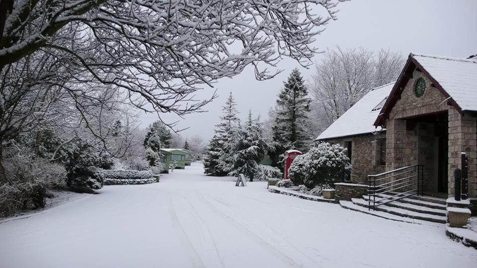 A snow-covered wonderland for our guests to explore