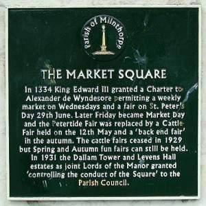 Milnthorpe Market square