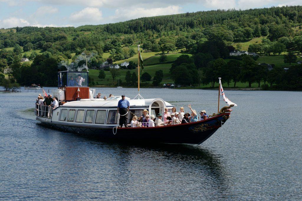 Steam Yacht Gondola, Coniston Water