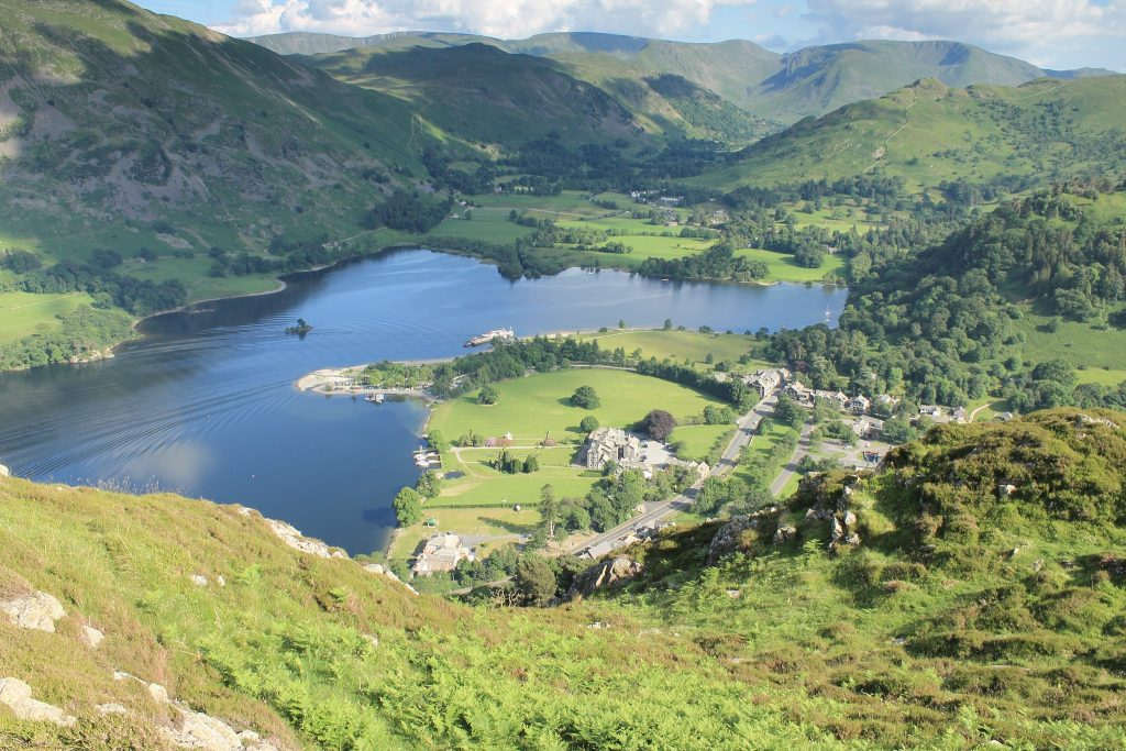 Glenridding and the Far Eastern fell from Glenridding Dodd