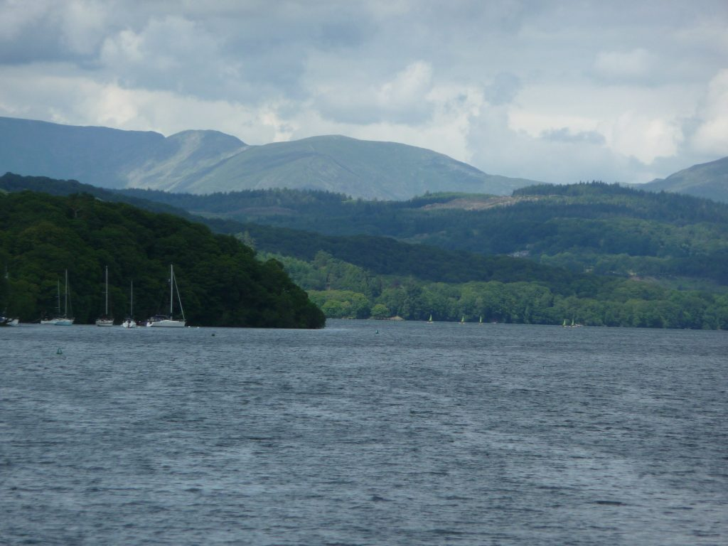 cruising Lake Windermere is a great rainy day activity in the Lake District