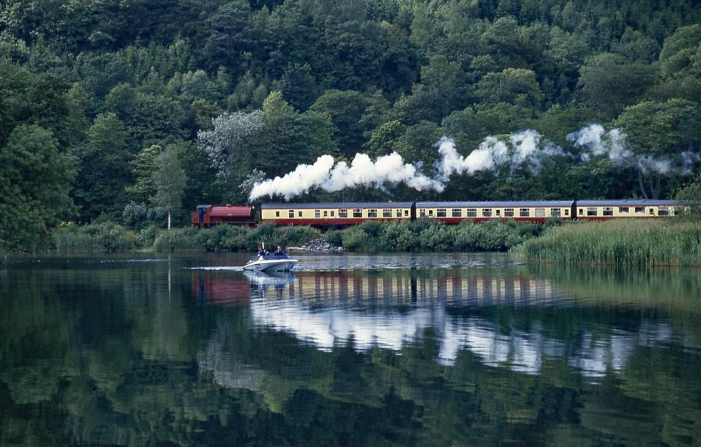 Lakeside and Haverthwaite Railway is a great rainy day activity in the Lake District