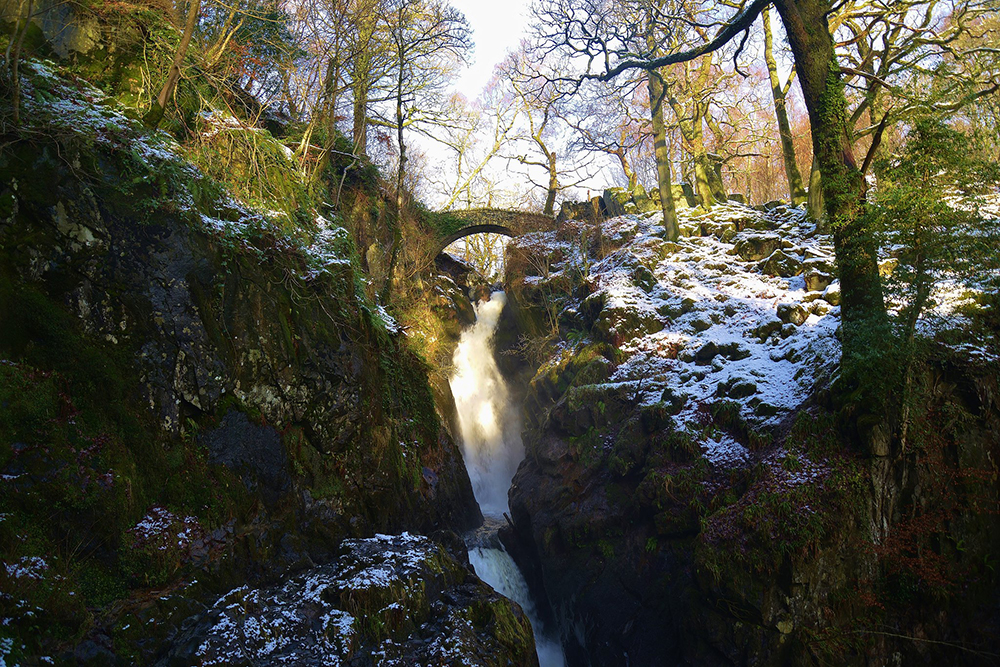 aira force waterfall cumbria