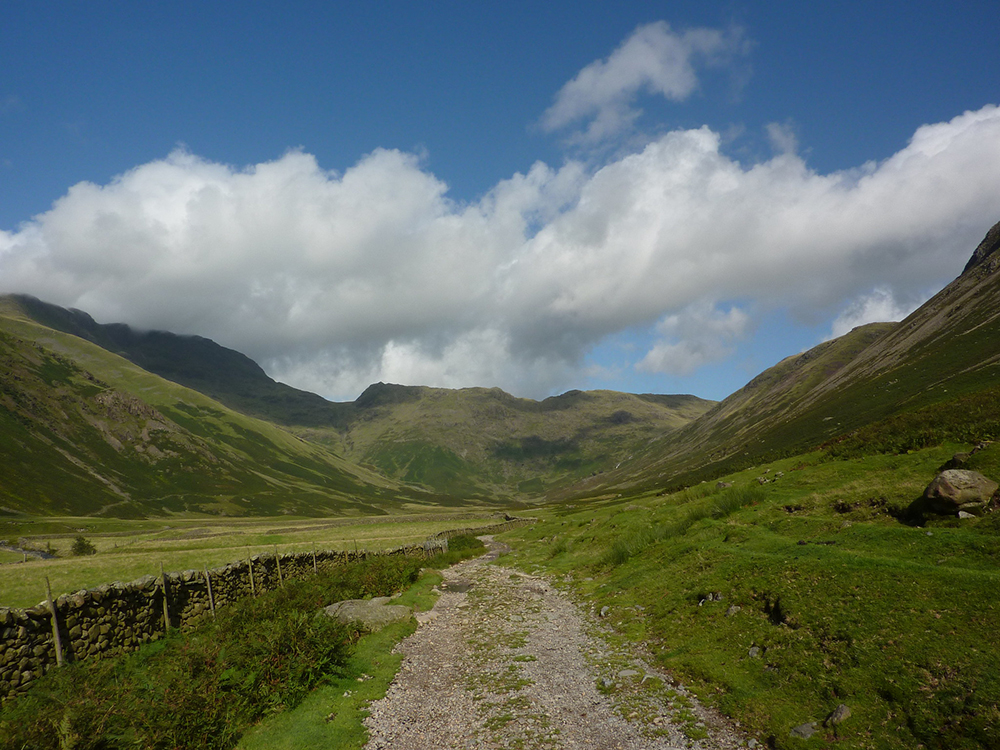 walk the 112km cumbria way in the Lake District