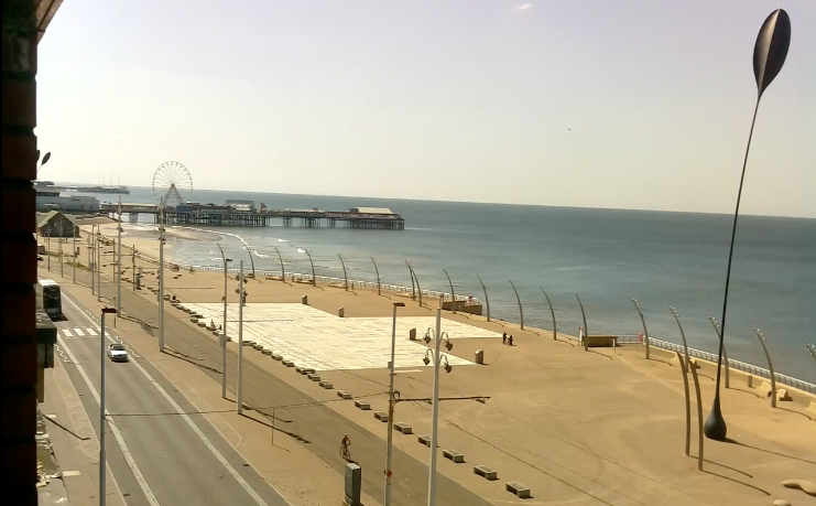 Virtual Lancashire - Blackpool webcam