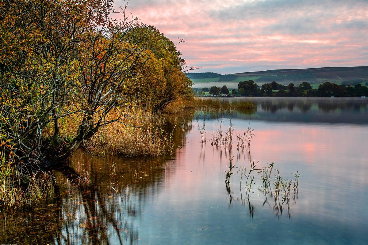 autumn on Ullswater Lake District