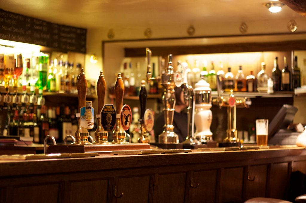 Lake District pub bar