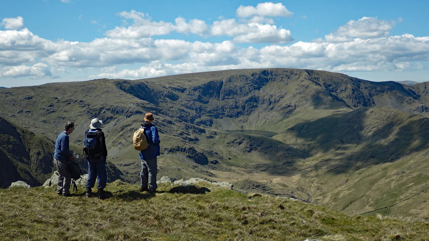 Lake District walkers