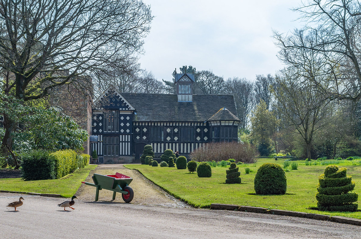 Rufford Old Hall, National Trust, Lancashire